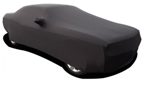 2008-2017 Challenger Black Onyx Satin Stretch Indoor Car Cover