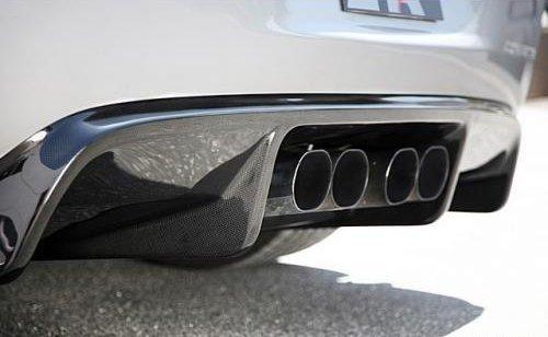 Ab 286019 C6 Corvette Carbon Fiber Rear Diffuser