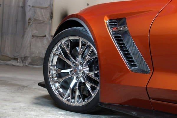 C7 Corvette Z06 Carbon Fiber Front Fender Vents ...