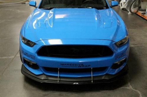 36996 2015 2017 Ford Mustang Apr Carbon Fiber Front