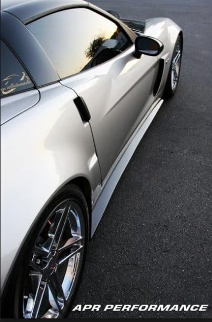 Fs 208008 C6 Corvette Z06 Carbon Fiber Side Splitters C6