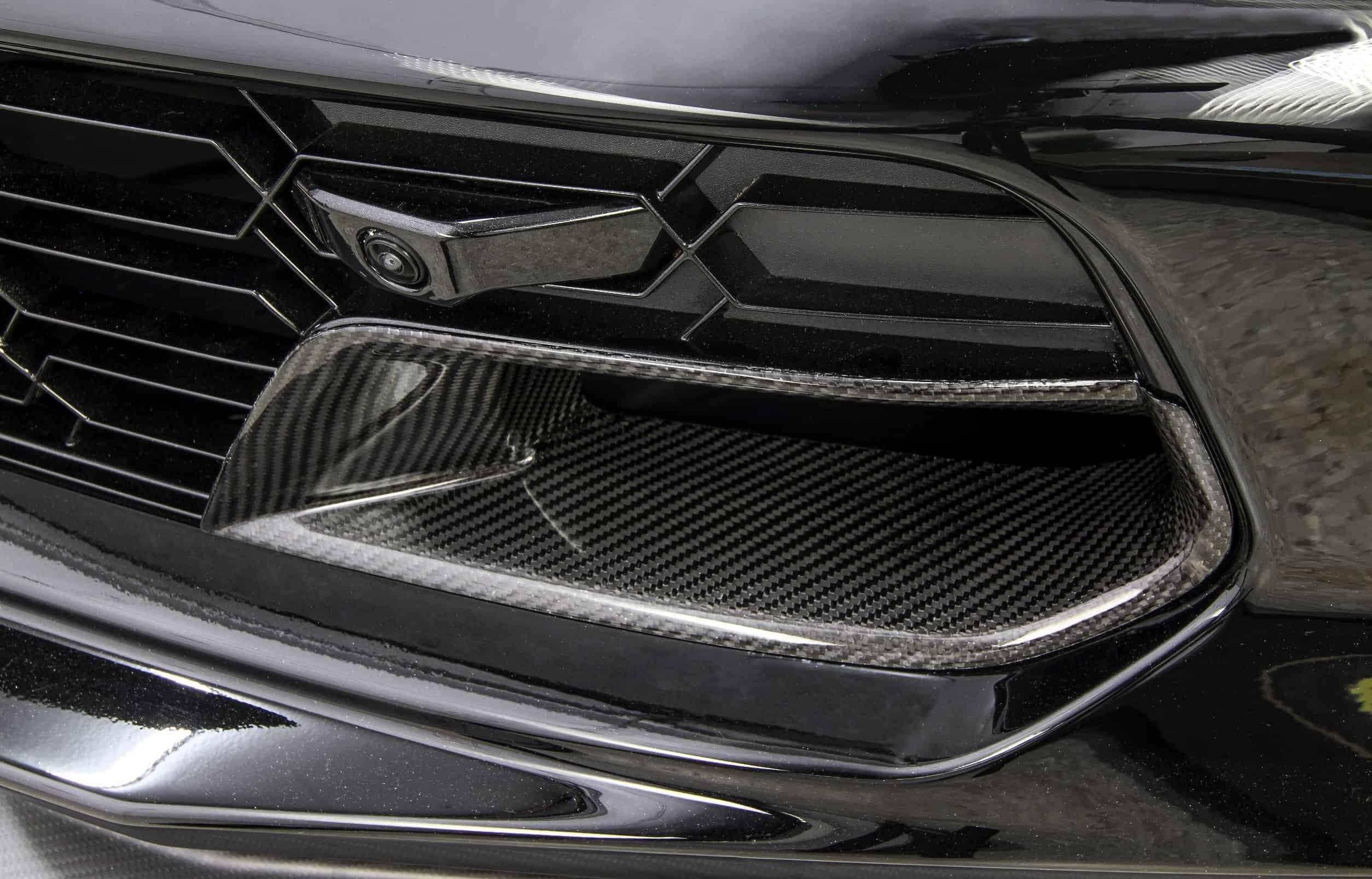 C7 Corvette Z06 And Grand Sport Carbon Fiber Brake Duct