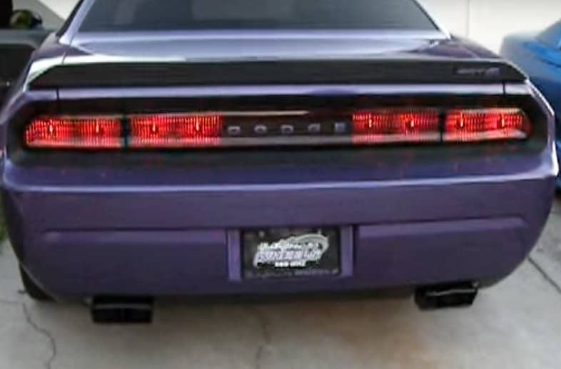 Dodge Challenger Sequential Tail Lights