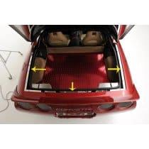 C5 Corvette Rear Deck Trim Panels Package