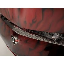 Corvette C5 Perforated Stainless Steel Nose Cap