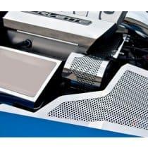 C7 Corvette Perforated Alternator Cover