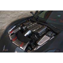 C7 Corvette 2pc Nose Cap Trim Insert