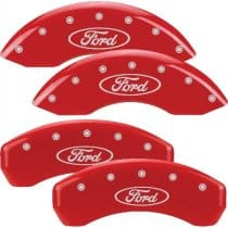2009 Ford F-150 Red Caliper Covers
