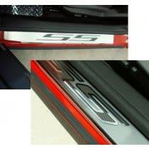2010-2013 Camaro Door Sill Plates w/SS