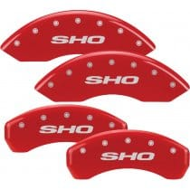 2010-2012 Ford Taurus SHO Red Caliper Covers