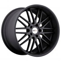C7 Corvette Cray Hawk Matte Black Wheels Set