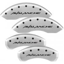 "2000-2006 Satin Caliper Covers with ""AVALANCHE"" Engraving"