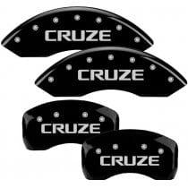 2011-2012 Chevrolet Cruze Black Caliper Covers