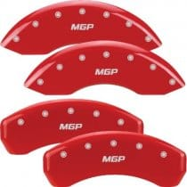 2004-2012 Chevy Colorado Red Caliper Covers with MGP engraving
