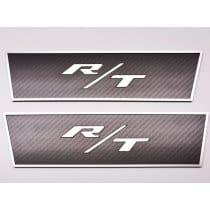 Dodge Challenger R/T Door Badges in Carbon Fiber