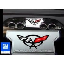 Corvette C5 Billet Exhaust Enhancer Plate