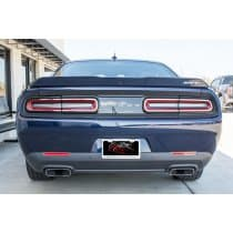 2015-2017 Dodge Challenger Stainless Steel Taillight Trim