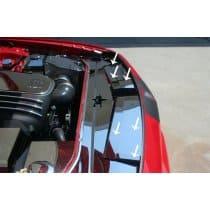 2008-2017 Dodge Challenger Stainless Steel Engine Header Plate Extension K