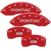 2005-2010 Pontiac G6 Red Caliper Covers (PG6)