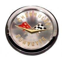 1958-1961 C1 Corvette Emblem Assembly