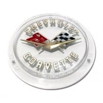 1958-1962 C1 Corvette Gold Front and Rear Emblem