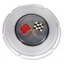 1964 C2 Corvette Gas Lid Emblem