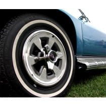 1965-1966 C2 Corvette Wheel Covers With Spinners 4 Piece Set