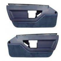 1984-1985 C4 Corvette Standard Door Panels Blue