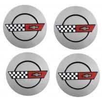1987 C4 Corvette Wheels Center-Caps Package
