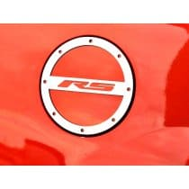 2010-2017 Camaro Brushed Fuel Door Cover RS