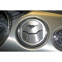 2015 Mustang 50th A/C Vent Trim Kit Brushed With Etched Pony