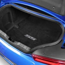 2016-2017 6th Generation Camaro Silver SS Logo Trunk Compartment Cargo Mat
