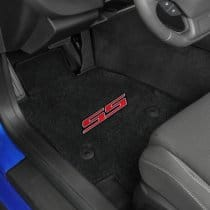 2016 2017 Camaro SS Red Logo Front Floor Mats