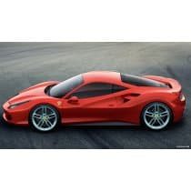 2016 Ferrari 488 GTB Akrapovic Slip-On Line Exhaust