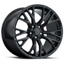 C7 Corvette Z06 Black Reproduction Wheels
