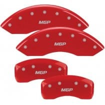 BMW 5 Series Red Caliper Covers