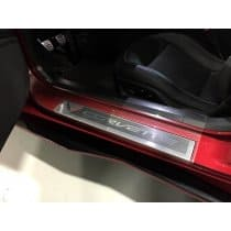 C7 Corvette Stingray Clear Door Sill Protectors