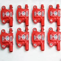 C7 Corvette GM LT Series Malevolent 85Kv Coil Pack Set (Red)