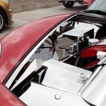 C6 Corvette Polished Stainless Inner Fender Liner Set Component