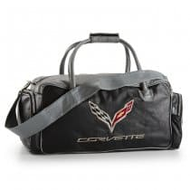 C7 Corvette Black and Grey Duffel Bag