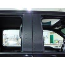2009-2014 Ford F150/Raptor Pillar Post Carbon Fiber Wrap 4Pc