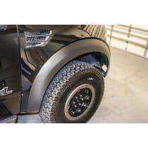 2010-2014 Ford Raptor Carbon Fiber Vinyl Fender Flare Wrap Kit