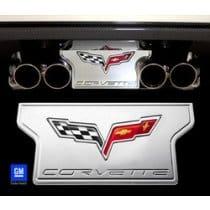 C6 Corvette  Billet Exhaust Plate