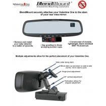 Nissan 350Z and 370Z Radar Detector BlendMount