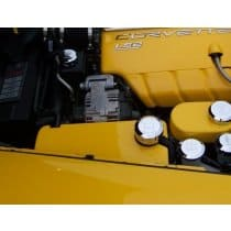 C6 Corvette  Painted Surge Tank Cover (Coolant Cover)