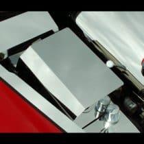 C6 Corvette  Stainless Fuse Box Cover Component Part