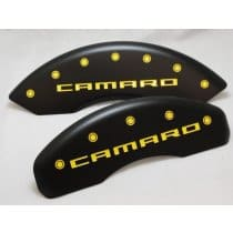 2010-2015 Camaro Engraved Black Stealth Caliper Covers