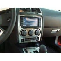 2008-2014 Dodge Challenger Stainless Center Dash Trim Plate