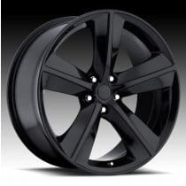 Dodge Challenger Gloss Black Alloy Wheels