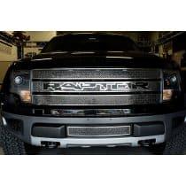 2010-2014 Ford Raptor Laser Mesh Grille with Black Raptor Logo